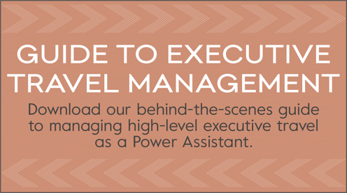 Guide to Executive Travel Management
